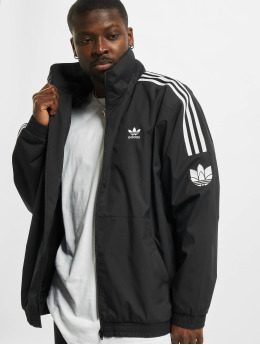 adidas Originals Lightweight Jacket 3D Trefoil 3 Stripes black