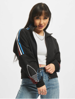 adidas Originals Lightweight Jacket Tricolor Trefoil  black