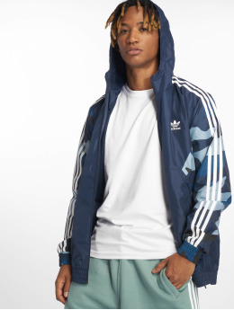adidas originals Lightweight Jacket Camo  blue