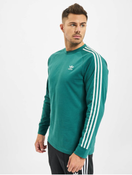 adidas Originals Longsleeve 3-Stripes green