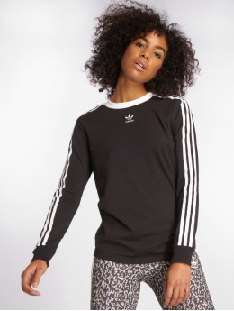 adidas originals Longsleeve originals 3 Stripes schwarz