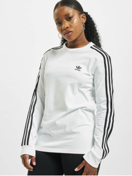 adidas Originals Longsleeve 3-Stripes white