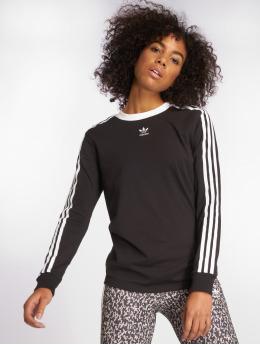adidas originals Longsleeve originals 3 Stripes zwart