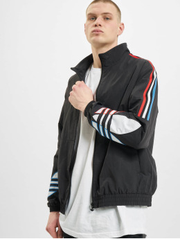 adidas Originals Övergångsjackor Tricolor  svart