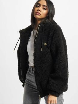 adidas Originals Övergångsjackor Sherpa  svart