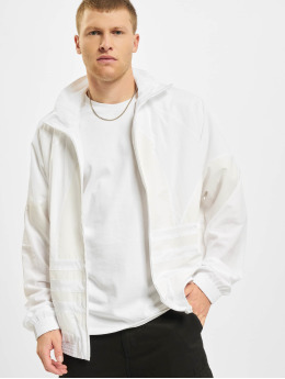 adidas Originals Övergångsjackor Big Trefoil vit