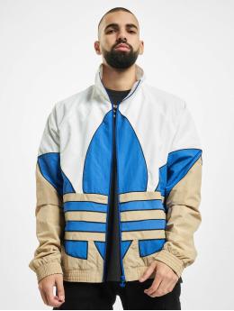 adidas Originals Övergångsjackor Big Trefoil Outline Woven vit