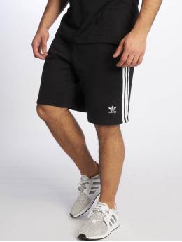 adidas originals Pantalón cortos 3-Stripe negro