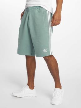 adidas originals Pantalón cortos 3-Stripe turquesa