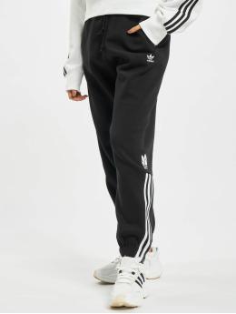 adidas Originals Pantalone ginnico Fleece  nero