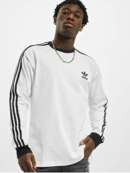 adidas Originals Pitkähihaiset paidat 3-Stripes  valkoinen