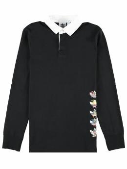 adidas Originals Poloshirt Tanaami Rugby schwarz