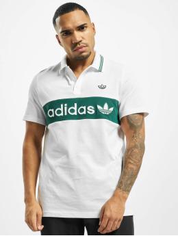 adidas Originals Poloshirts Stripe Polo hvid