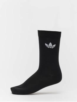 adidas originals Ponožky Thin Tref Crew èierna