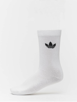 adidas originals Ponožky Thin Tref Crew bílý