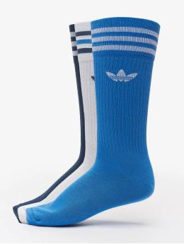 adidas Originals Ponožky 3 Pack Solid Crew biela