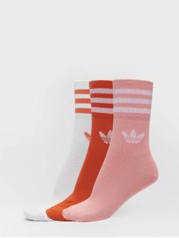 adidas Originals Ponožky Mid Cut Crew  oranžová