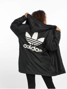 adidas Originals Prechodné vetrovky Adicolor èierna