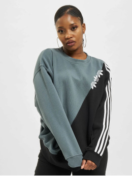 adidas Originals Pullover Sliced Trefoil blau