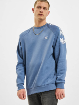 adidas Originals Pullover 3D TF 3 STRP CR blau