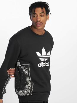 adidas originals Pullover Bandana Crew Neck schwarz