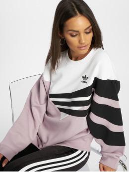 adidas originals Pullover diagonal violet