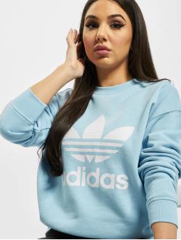 adidas Originals Pulóvre Trefoil  modrá