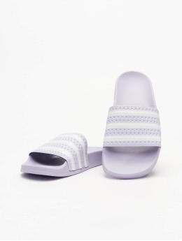 adidas Originals Sandaalit Adilette purpuranpunainen