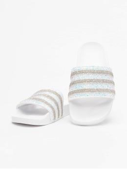 adidas Originals Sandali Adilette  bianco