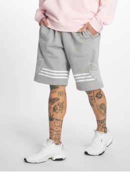 adidas originals shorts Outline grijs