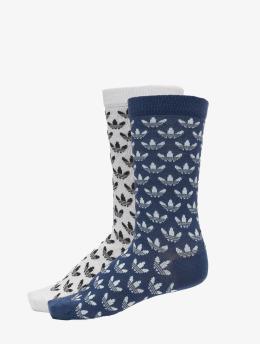 adidas Originals Skarpetki Thin Crew niebieski