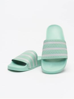 adidas Originals Slipper/Sandaal Adilette  groen