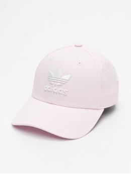 adidas Originals Snapback Cap Classic Trefoil rosa chiaro