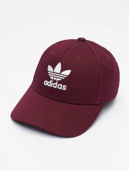 adidas Originals Snapback Caps Classic Trefoil czerwony