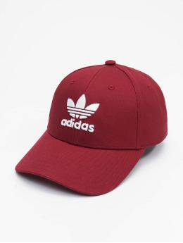 adidas Originals Snapback Caps Classic Trefoil Baseball czerwony