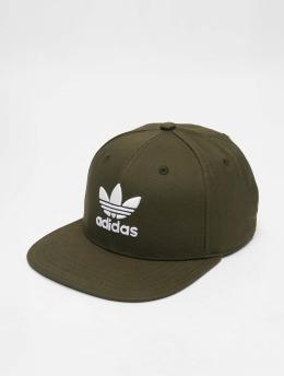 adidas originals Snapback Caps Sb Classic Tre oliwkowy