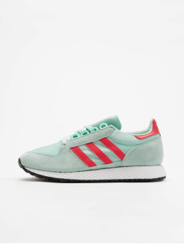 adidas originals Sneakers Forest Grove W zielony