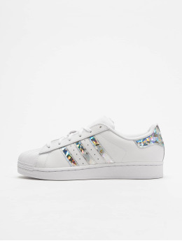 adidas originals Snejkry Superstar J bílý