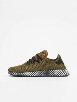adidas originals Snejkry Deerupt Runner hnědožlutý
