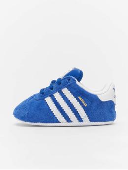 adidas originals Snejkry Gazelle Crib modrý
