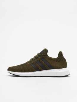 adidas originals Snejkry Swift Run olivový