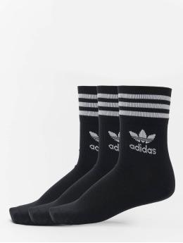 adidas Originals Socken Mid Cut Crew schwarz