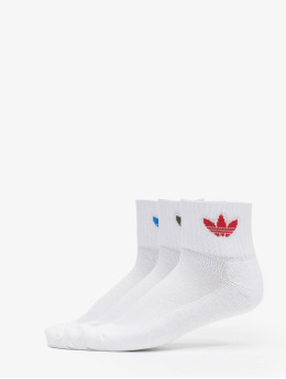 adidas Originals Socken Mid 3-Pack weiß