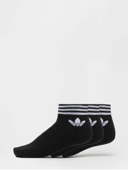 adidas originals Socks Trefoil Ank Str black