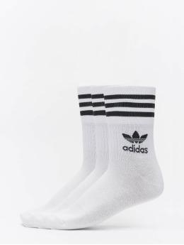 adidas Originals Sokken Mid Cut Crew wit