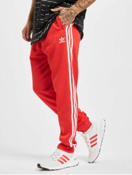 adidas Originals Spodnie do joggingu SST TP P Blue czerwony