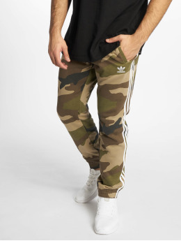 adidas originals Spodnie do joggingu Camo Fleece moro