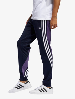 adidas Originals Spodnie do joggingu 3stripe  niebieski