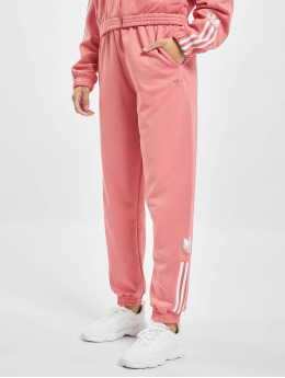 adidas Originals Spodnie do joggingu Track  rózowy