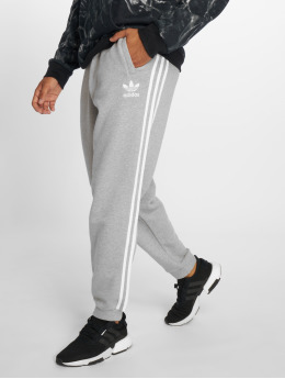 adidas originals Spodnie do joggingu 3 Stripes szary